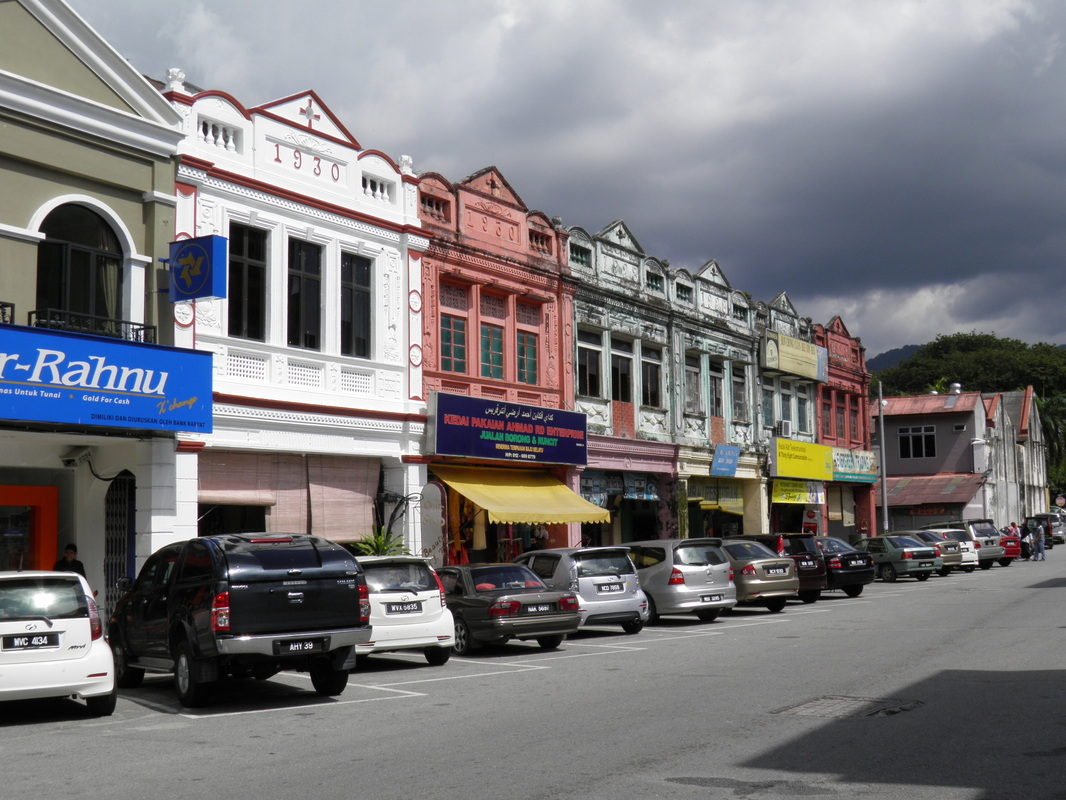 85 year old shophouses.