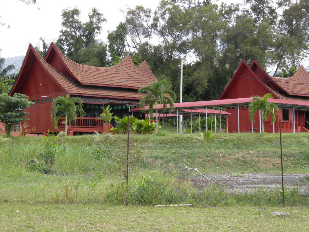 Government office in traditional Negeri Sembilan architectural style.