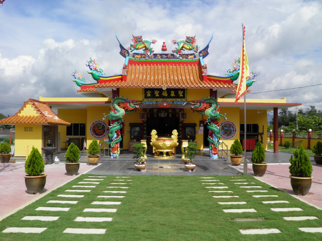 Chinese Temple at Rembau