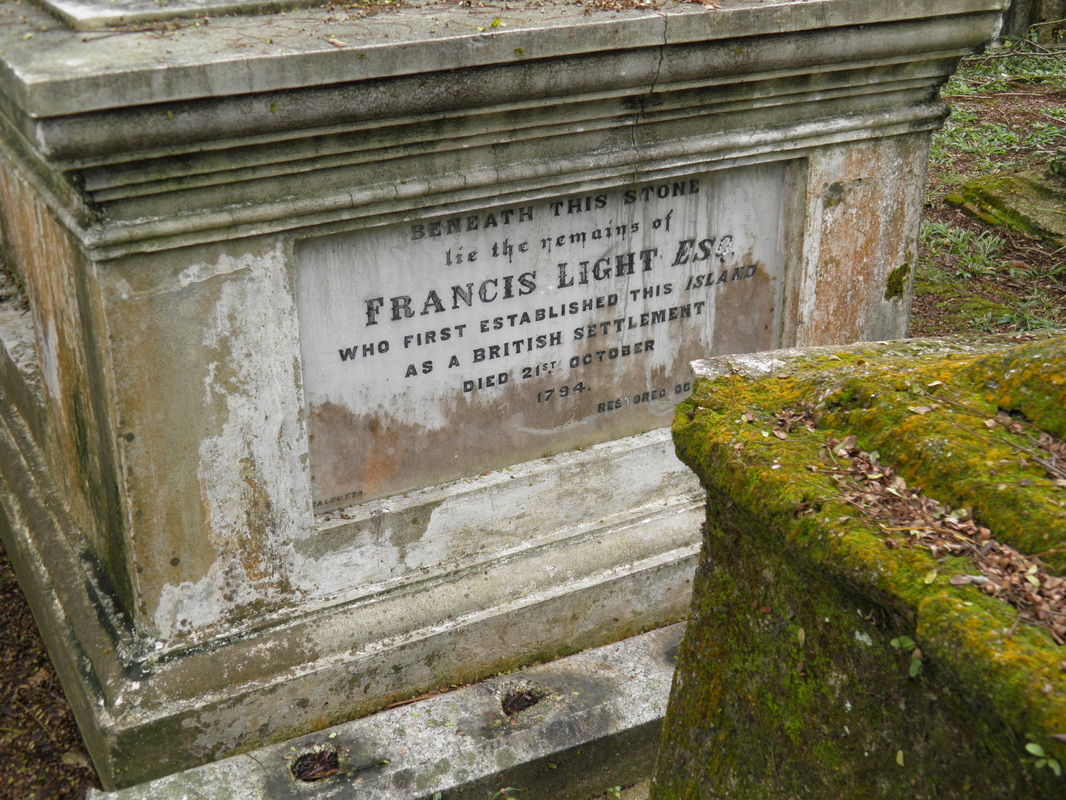 Grave of Francis Light, George Town